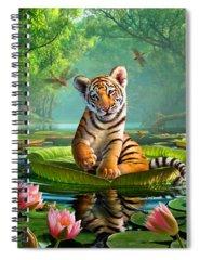 Pond Spiral Notebooks