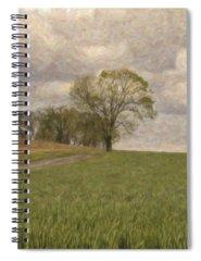 Prairie Grass Mixed Media Spiral Notebooks