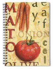 Vegetable Spiral Notebooks