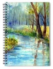 Alley Spring Spiral Notebooks