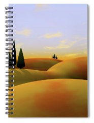 Hills Spiral Notebooks