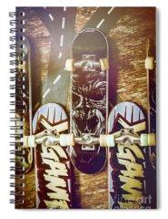 Extreme Sport Photographs Spiral Notebooks