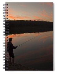 Fishing Spiral Notebooks
