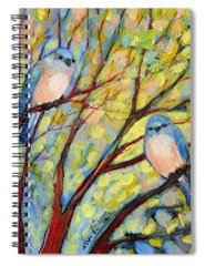 Tree Paintings Spiral Notebooks