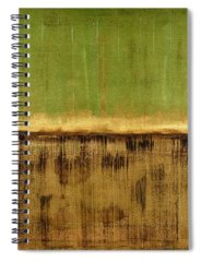 Green Color Spiral Notebooks