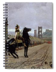 Scaffold Paintings Spiral Notebooks