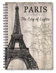 Paris Spiral Notebooks