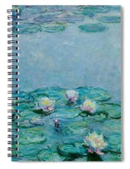Monet Spiral Notebooks