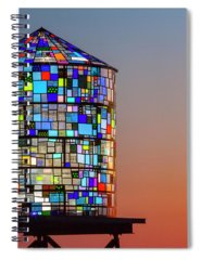 Stained Glass Spiral Notebooks