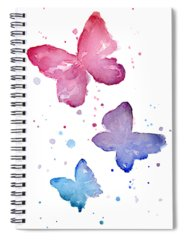 Pink Spiral Notebooks