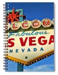 Travel Destinations Photographs Spiral Notebooks