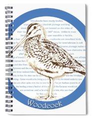 Woodcock Spiral Notebooks
