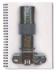 Vintage Camera Spiral Notebooks