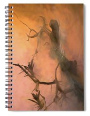 Petrified Wood Mixed Media Spiral Notebooks
