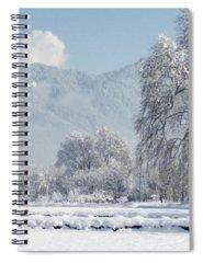 Snow Spiral Notebooks