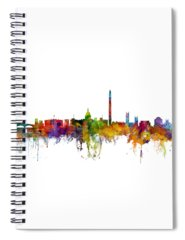 Washington Dc Skyline Spiral Notebooks