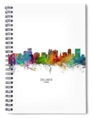 Orlando Spiral Notebooks