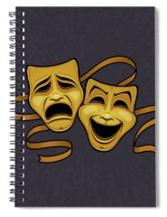 Live Theater Spiral Notebooks