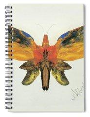 Decalcomania Spiral Notebooks