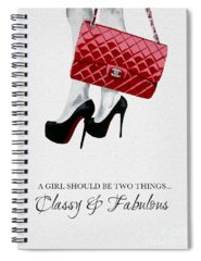 Coco Chanel Spiral Notebooks