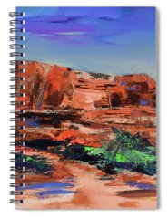 Courthouse Butte Paintings Spiral Notebooks