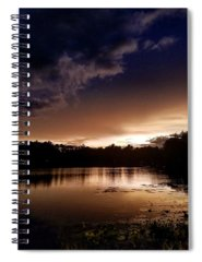 Evening Sun Spiral Notebooks