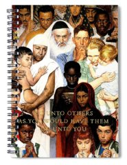 Norman Rockwell Spiral Notebooks