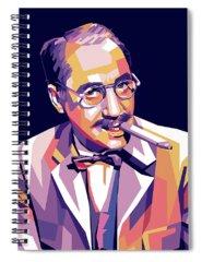 Groucho Marx Spiral Notebooks