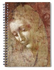 Sacred Mixed Media Spiral Notebooks