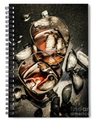 Whisky Photographs Spiral Notebooks