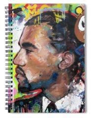 Kanye West Rap Spiral Notebooks