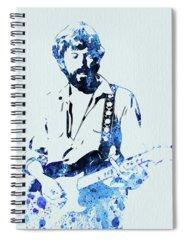 Guitar Mixed Media Spiral Notebooks