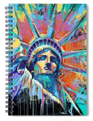 Statue Spiral Notebooks
