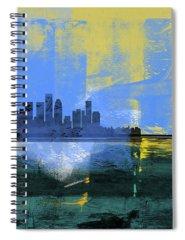 Skyline Mixed Media Spiral Notebooks