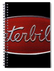 Semi Truck Photographs Spiral Notebooks
