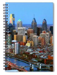 Urban Scene Spiral Notebooks