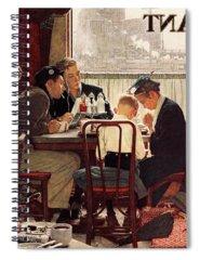 Luncheonette Spiral Notebooks