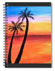 Kids Paintings Spiral Notebooks