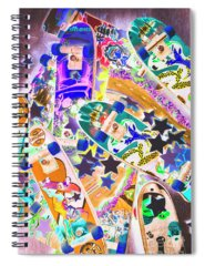Extreme Photographs Spiral Notebooks