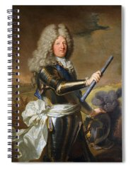 Hyacinthe Rigaud Spiral Notebooks