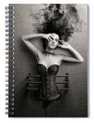 Digital Image Photographs Spiral Notebooks