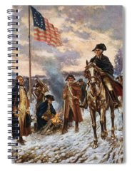 Revolutionary Paintings Spiral Notebooks