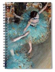 Dancing Spiral Notebooks