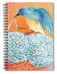Fibers Spiral Notebooks