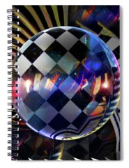 Checker Spiral Notebooks