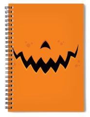 Pumpkin Spiral Notebooks