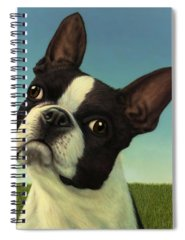 Boston Terrier Spiral Notebooks