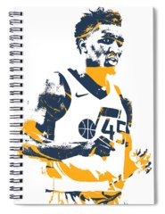 Utah Jazz Spiral Notebooks