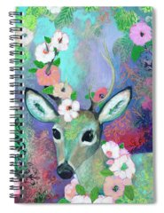 Bambi Paintings Spiral Notebooks