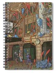 Metro Spiral Notebooks
